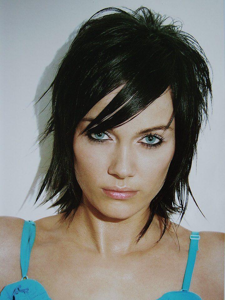 Medium Black Hairstyle