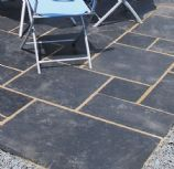 Global Stone Paving-Limestone-Midnight-PAVING SLABS, MIXED SIZE (13.65m2)