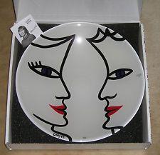 Kosta Boda Open Minds Dish NIB Ulrica Hydman-Vallien MSRP $225.