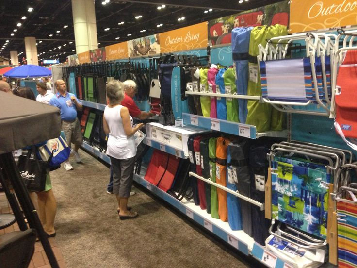 Folding chair aisle at ACE show | Ace Interiors | Ace ...