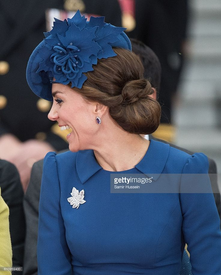 Catherine, Duchess of Cambridge attends the Official Welcome Ceremony for the Royal Tour at the British Columbia Legislature on September 24, 2016 in Victoria, Canada.  (Photo by Samir Hussein/WireImage)