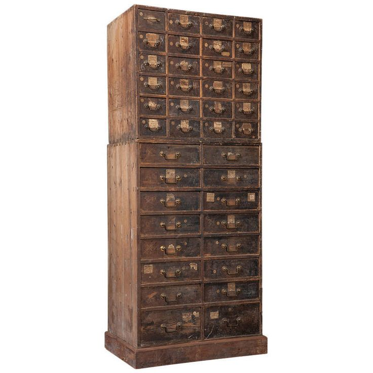 Elegant 48 Drawer Storage Cabinet