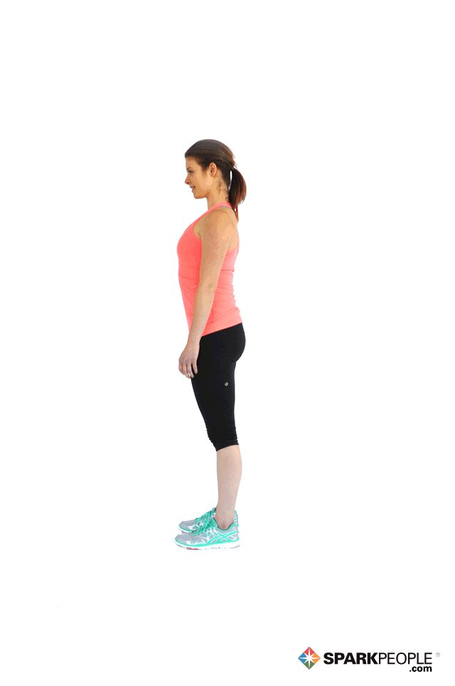 Burpees Exercise Demonstration via @SparkPeople