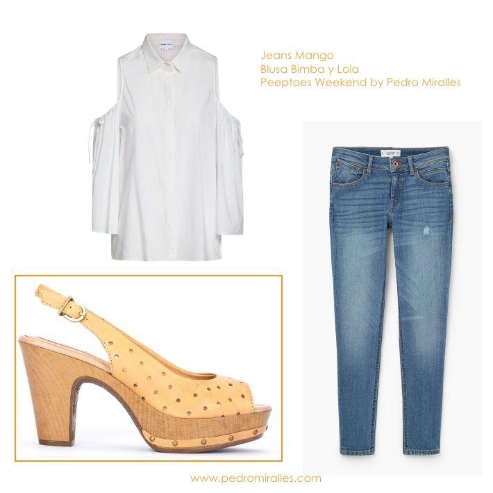 #mango #bimbaylola #pedromiralles #lookdeldia #ootd #blue #loveshoes #calzado #estilo #ideas