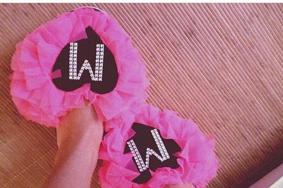 Personalized Flip Flops Bridal Flip flopsBridesmaid by Cocomillo