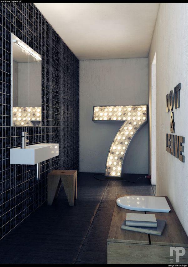 Justthedesignbathroom design by marcin pajak