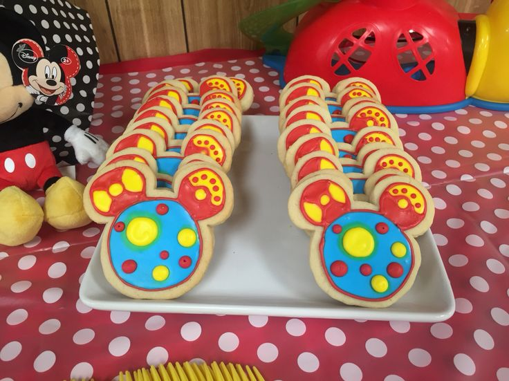 O Toodles!!! Sugar cookies by Elisa Sparks Mickey Mouse Clubhouse Birthday Party