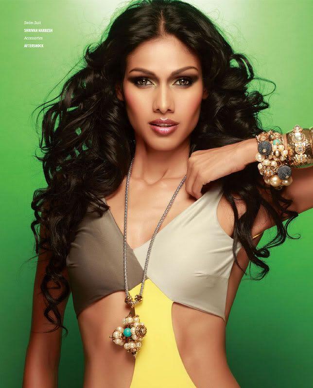 Nethra Raghuraman- Top Ten Leading & Most Popular Female Indian Fashion Models- Super Models of India