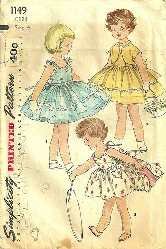 I love collecting old sewing patterns. Love them because they are vintage and…