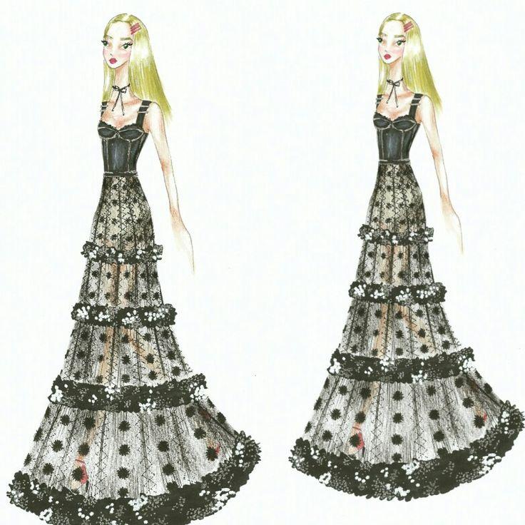 Wonderland (26) Fashion sketch