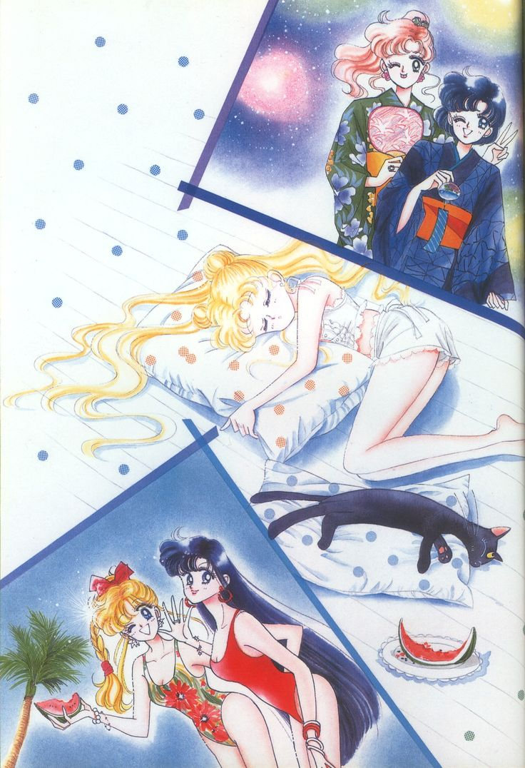 Sailor Moon Artwork | Naoko Takeuchi Art:Sailor Moon ☾