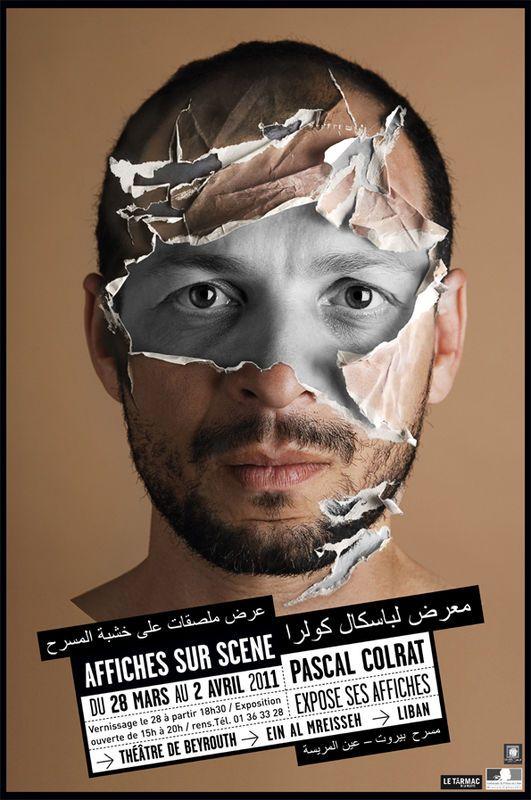 www.PascalColrat.fr - affiches sur scène