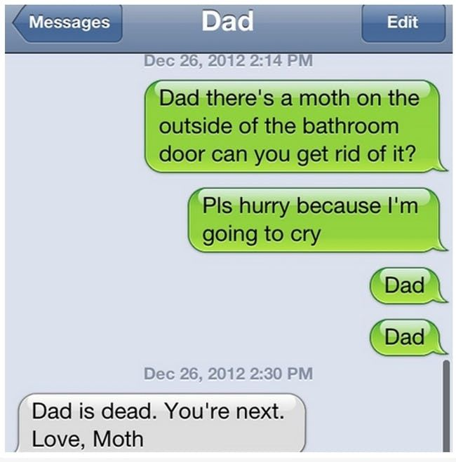 30 + Wonderful Texts That Only Your Dad Would Send | ViraLuck #humor