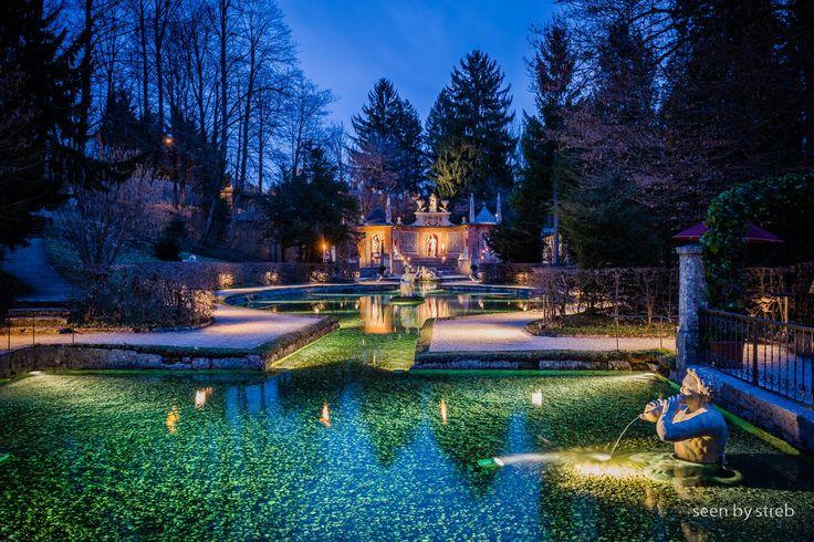 Castle Hellbrunn - Wasserspiele, Salzburg - AUSTRIA
