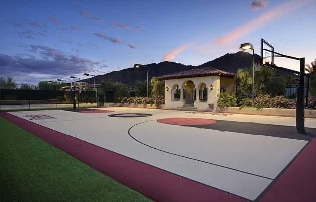 NBA Regulation Court in your backyard!  The Top Amenities that Buyers Look for in Los Angeles Luxury Homes - | Bel Air Homes | Beverly Hills Mansions Real Estate @americanaREG / AmericanaRealEstateGroup.com
