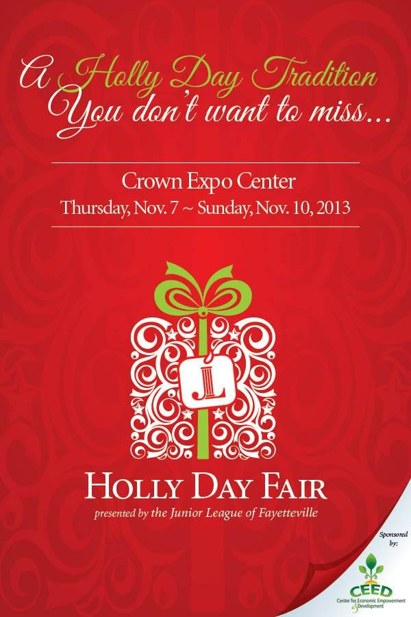 2013 Holly Day Fair in Fayetteville, NC presented by the Junior League of Fayetteville (November 2013)