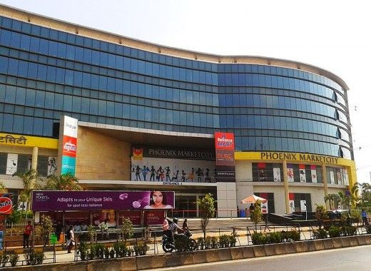 Phoenix Market City, Mumbai – 2,000,000 sq ft  The newly opened grand new mall in Kurla, Mumbai is the largest mall in India and also of Asia. When fully completed (construction is still going on) the mall will house about 600 stores, 14 screen multiplex, and more than 20 restaurants.    Year Opened : – 2011    Total Floor Area : – 2,00,000 sq ft (Total area stretches 4,099,995 sq ft)