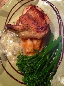 Roast Chicken, The Bridge Hotel