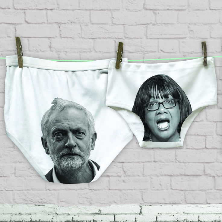 Pants for Political Men and Women Funny John Bercow Underwear Knickers
