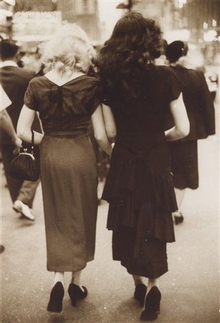 Times Square, the Fifties by Saul Leiter