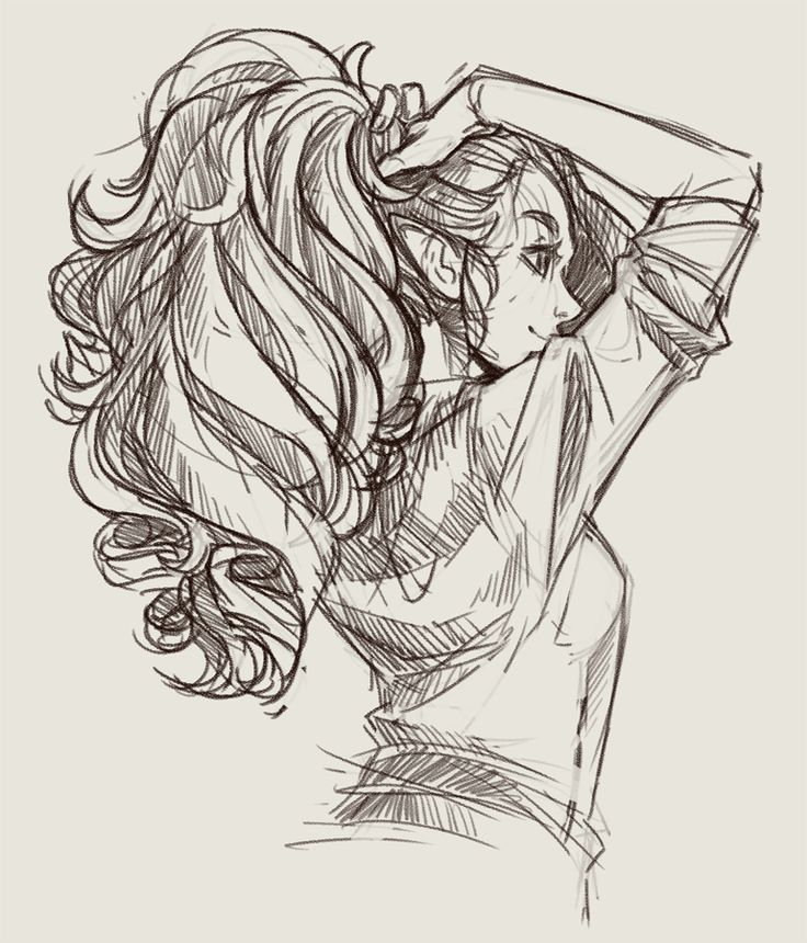 "Amanda Lien on Twitter: ""I draw Vex w/a really thick braid, so her hair would be…"
