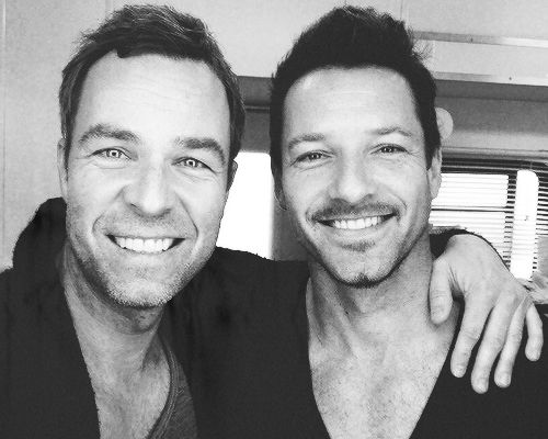 JR Bourne and Ian Bohen