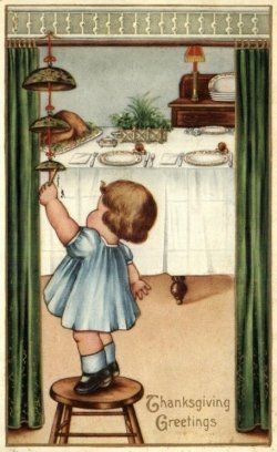 A collection of vintage warm and homey Thanksgiving images and art. Some are delightfully old fashioned and others cute and fanciful. I can think...