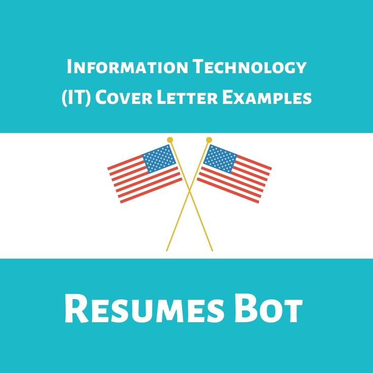 Information technology it cover letter templates