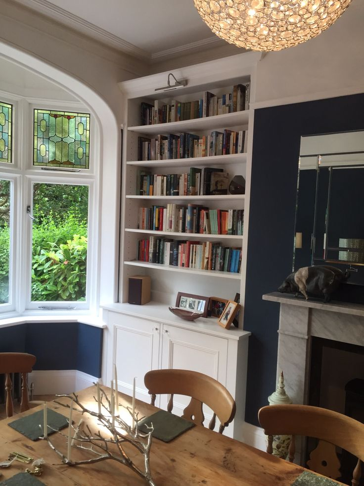 Living room furniture.Fitted Alcoves. Alcove Cabinets #livingroom Bespoke alcove units @ www.gillmartinez.com Manchester
