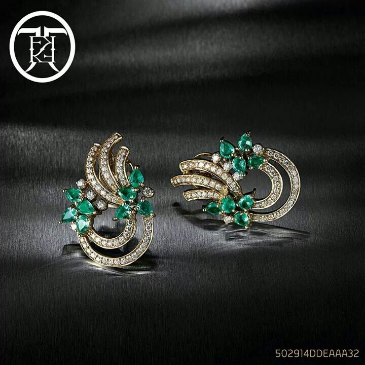 1076 best images about earclips on gold