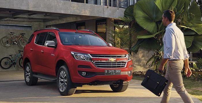 Detail Chevrolet Trailblazer 2017 Indonesia