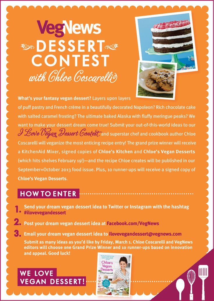 VegNews Dessert Contest with Chloe Coscarelli!
