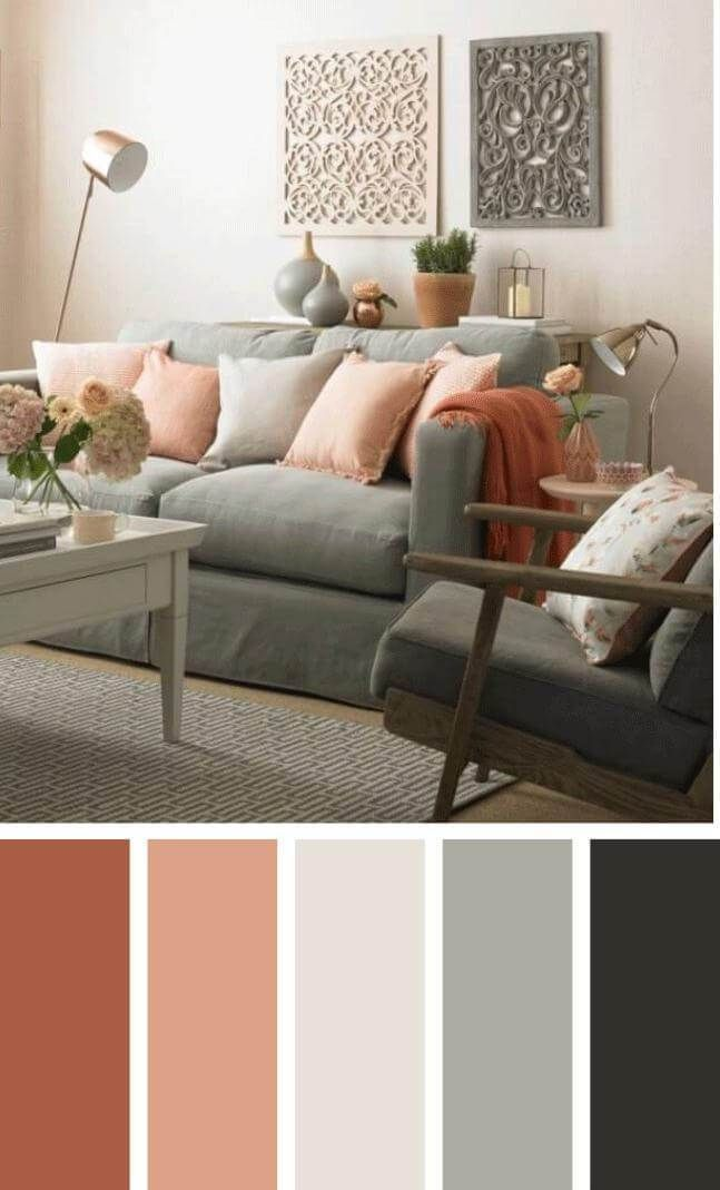 A color scheme can set the tone for your living-room. Locate ...