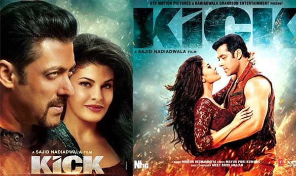 Kick Poster Salman And Jacqueline 2014