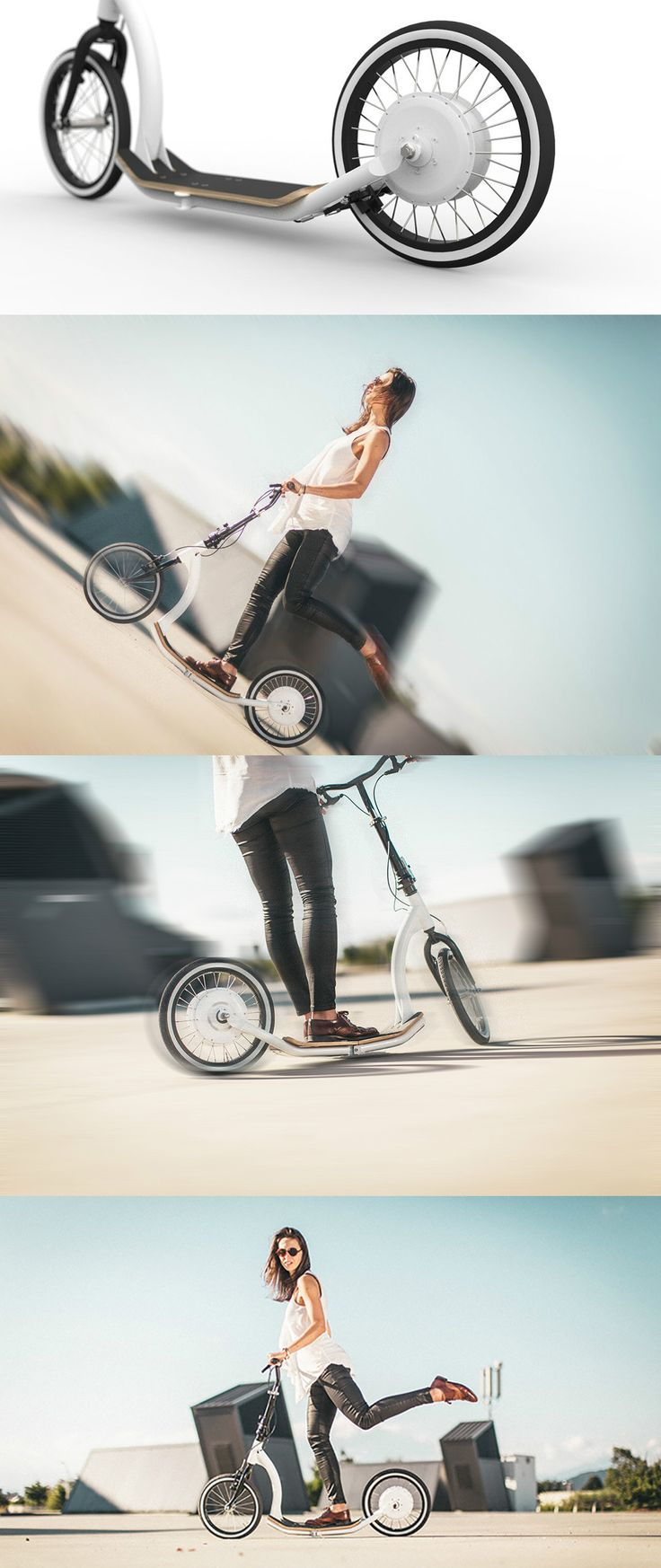 This beautifully practical kick assist e-bike is the smartest move around the…