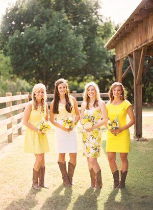 17 Best ideas about Yellow Bridesmaid Dresses on Pinterest | Lemon ...