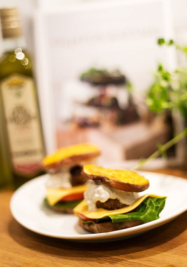 Sweet potato burger from P.S. I love fashion by Linda Juhola
