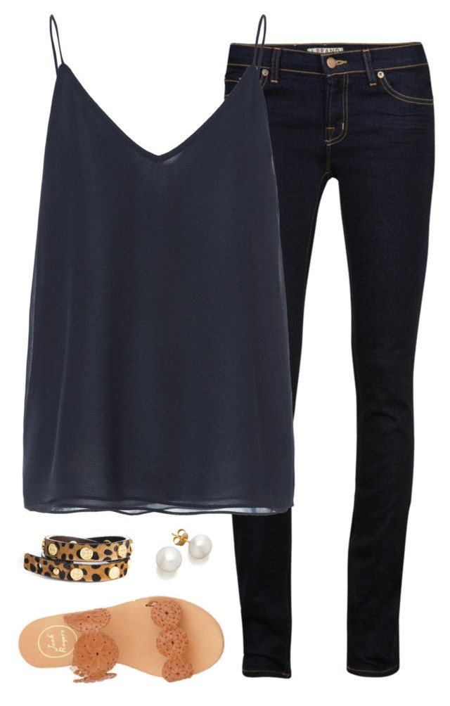 """""""thanks yall for 2.2k!!! ily!!!"""" by tex-prep ❤ liked on Polyvore featuring J Brand, Zara, Jack Rogers and Tory Burch"""