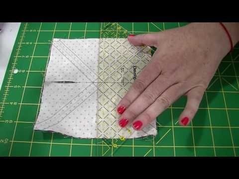 Sew half-square triangles 4 and 8 times faster than you are now - Stitch This! The Martingale Blog