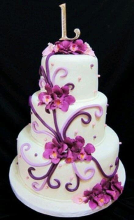 weddings purple orchid cake ideas purple cake purple wedding cakes