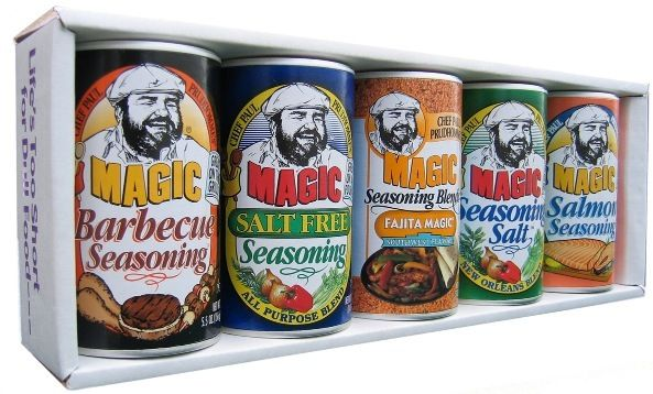 Chef Paul Prudhomme's Magic Seasoning BlendsBlends Magic, Louisiana Life, Favorite Things, Magic Seasons, K Paul Seasons, Chefs Paul Prudhomme, Local Brand, Gluten Free, Free Stuff