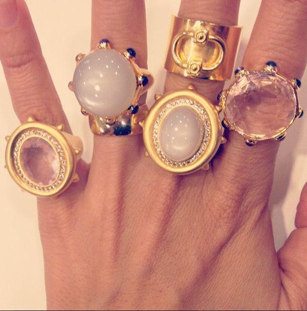Lulu Ring, Saskia Ring, Knocker Ring  www.ashabyadm.com