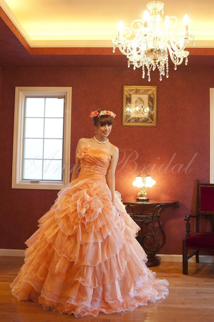 Citrus(シトラス) カラードレス オレンジ