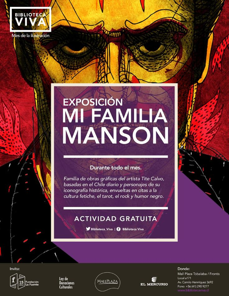 EXPOSICIÓN:  MI FAMILIA MANSON