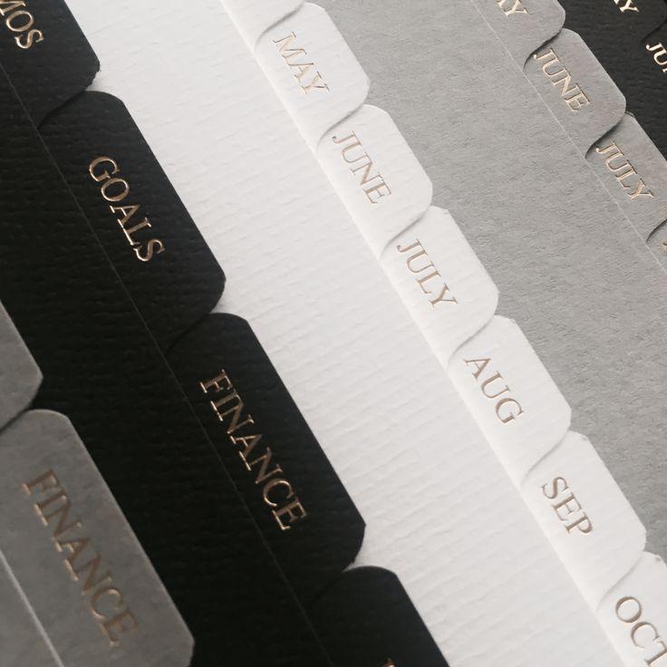 LUXURY PLANNER / AGENDA dividers for Louis Vuitton Agenda