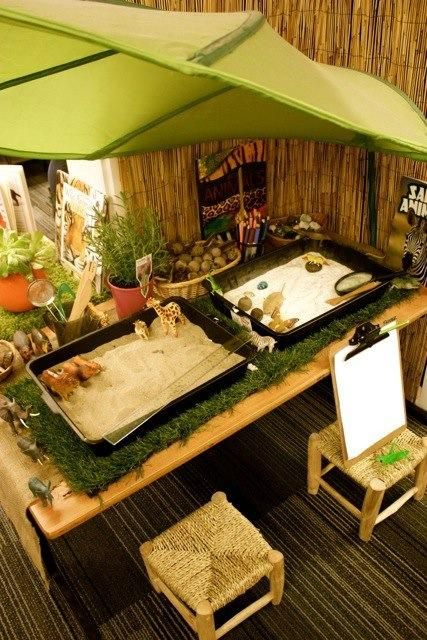 Nature & Discovery space for children to discover natural objects beauty and to learn about nature.