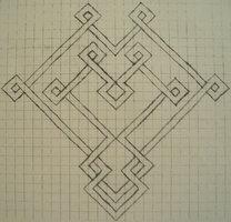 Celtic Graph Paper Heart by ~tattoofuzzy on deviantART