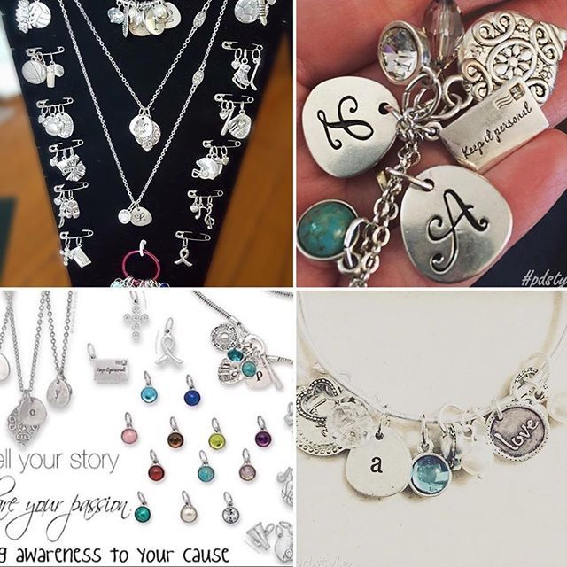 Personalize and customize bracelets and necklaces with our Keep It Personal collection! Great gift and sentimental ideas using sports, pets, initial, and color charms. #premierdesigns #pdstyle