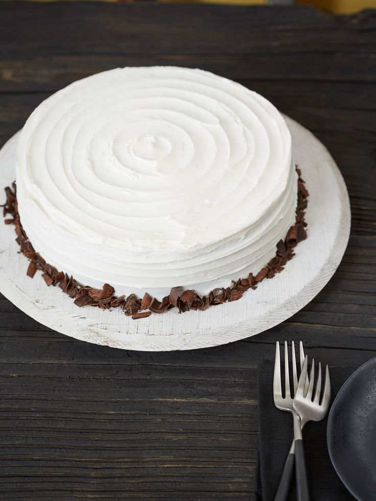 Check Out Chocolate Cake With American Buttercream