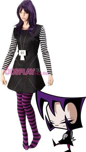 Invader Zim; Gaz Cosplay Costume www.cosplayhouse.com/Invader-Zim-Gaz-Cosplay-Costume-Version-01.html